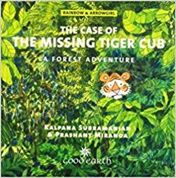 The Case of the Missing Tiger Cub: A Forest Adventure - Paperback
