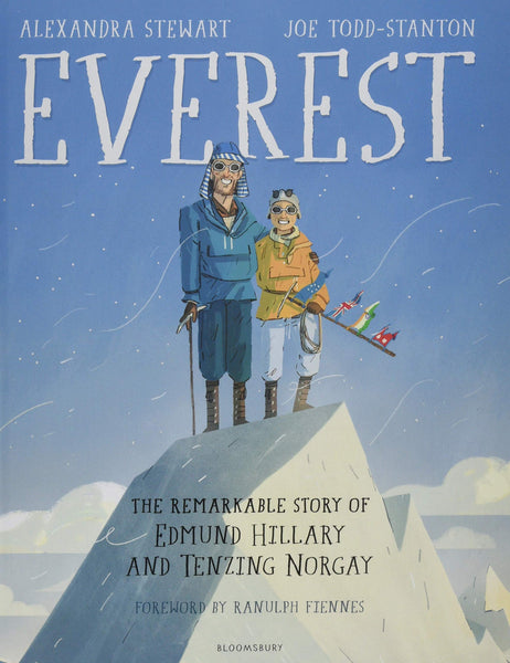 Everest: The Remarkable Story of Edmund Hillary and Tenzing Norgay - Hardback - Kool Skool The Bookstore
