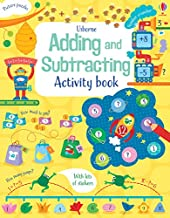 Usborne : Math Activity Book Adding and Subtracting - Kool Skool The Bookstore
