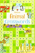 Usborne Animal Crosswords - Kool Skool The Bookstore