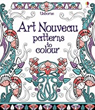 Art Nouveau Patterns to Colour - Kool Skool The Bookstore