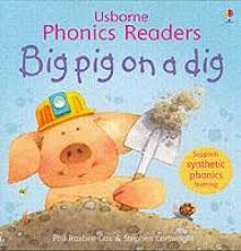 Usborne Phonics Readers: Big Pig On A Dig - Kool Skool The Bookstore