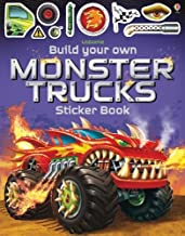 Build Your Own Monster Trucks Sticker Book - Kool Skool The Bookstore