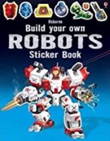 Build Your Own Robots Sticker Book - Kool Skool The Bookstore
