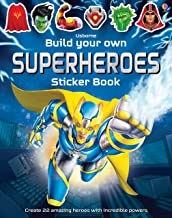 Build Your Own Superheroes Sticker Book - Kool Skool The Bookstore