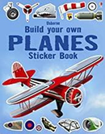Build your own Planes Sticker Book - Kool Skool The Bookstore