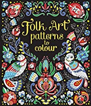 Folk Art Patterns to Colour - Kool Skool The Bookstore