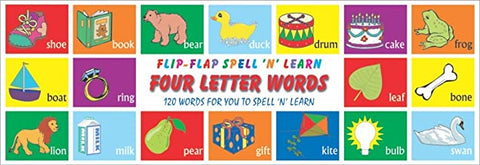 Four Letter Words (Flip-Flap) Board book - Kool Skool The Bookstore