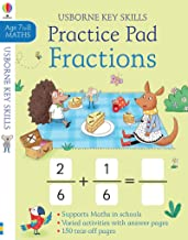 Usborne Fractions Practice Pad - Kool Skool The Bookstore
