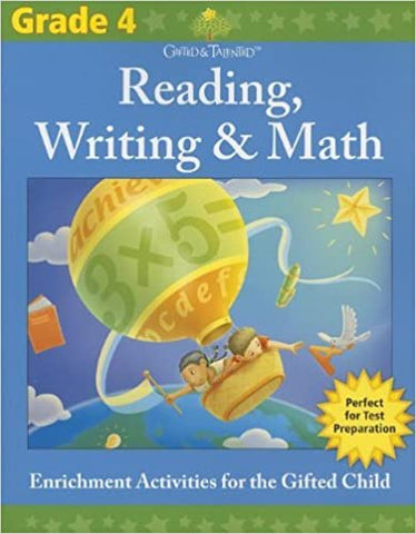 Gifted & Talented: Grade 4 Reading, Writing & Math - Kool Skool The Bookstore