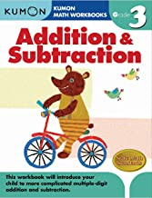 Kumon Workbooks : Grade 3 Addition & Subtraction - Kool Skool The Bookstore