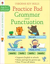 Usborne Grammar & Punctuation Practice Pad Age 6-7 - Kool Skool The Bookstore