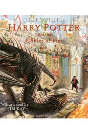 Harry Potter And The Goblet Of Fire : Illustrated Edition - Kool Skool The Bookstore