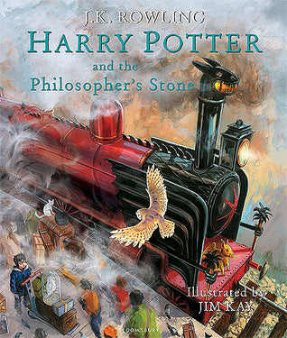 Harry Potter and the Philosopher's Stone - Illustrated Edition Hardback - Kool Skool The Bookstore