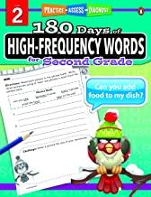 180 Days of : High-Frequency Words (Grade 2) - Kool Skool The Bookstore