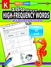 180 Days of : High-Frequency Words (Grade Kindergarten) - Kool Skool The Bookstore