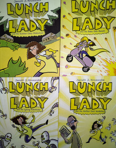 Lunch Lady Collection of 4 - Paperback