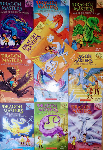 Dragon Master Collection Set Of 10 Books (Parts 2 to 11) : Paperback