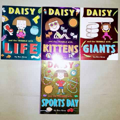 Daisy Collection Set Of 4 Books (Set 2) - Paperback