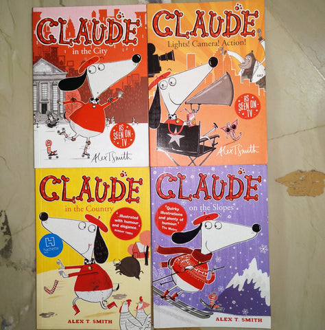 Claude Set Of 4 Books - Paperback