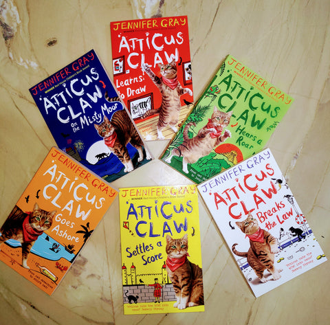 Atticus Claw Collection Set Of 6 Books - Paperback