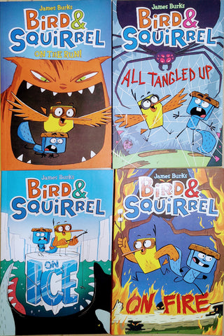 Birds And Squirrel Collection Set Of 4 Books - Paperback