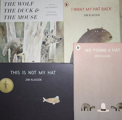 Jon Klassen Collection (Set Of 4 Books)