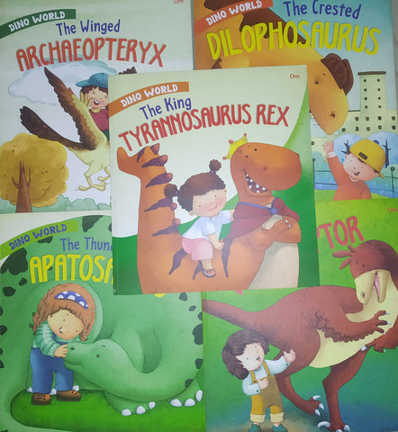 Dino World Picture Book Collection (5 books) - Paperback