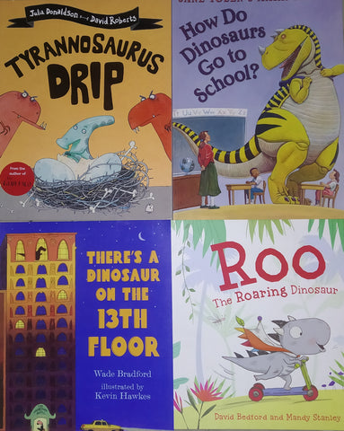 Dinosaurs Picture Book Collection  - Paperback