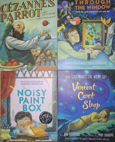 Artists Biography Picture Book Collection - Hardback