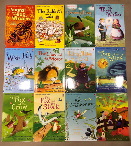 Usborne First Reading Series 1 Set - 12 books