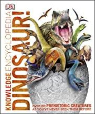 DK : Knowledge Encyclopedia Dinosaur - Hardback - Kool Skool The Bookstore
