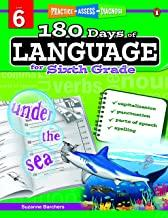180 Days of : Language (Grade 6) - Kool Skool The Bookstore