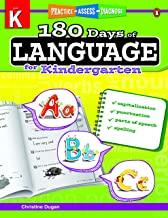 180 Days of : Language (Grade Kindergarten) - Kool Skool The Bookstore
