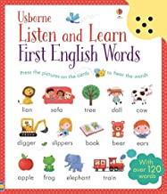 Usborne Listen and Learn First English Words - Kool Skool The Bookstore