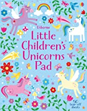 Usborne Little Children's Unicorns Pad - Kool Skool The Bookstore