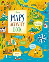 Usborne Maps Activity Book - Kool Skool The Bookstore
