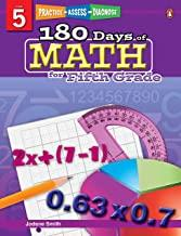 180 Days of : Math (Grade 5) - Kool Skool The Bookstore