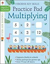 Usborne Multiplying Practice Pad Age 6-7 - Kool Skool The Bookstore
