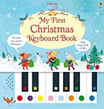 Usborne My First Christmas Keyboard Book - Kool Skool The Bookstore
