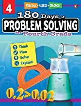 180 Days of : Problem Solving (Grade 4) - Kool Skool The Bookstore