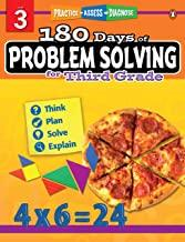 180 Days of : Problem Solving (Grade 3) - Kool Skool The Bookstore