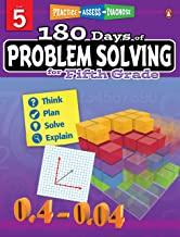 180 Days of : Problem Solving (Grade 5) - Kool Skool The Bookstore