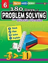 180 Days of : Problem Solving (Grade 6) - Kool Skool The Bookstore