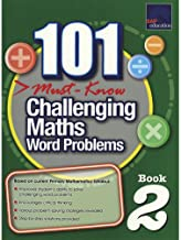SAP 101 Must Know Challenging Maths Word Problems Level 2 - Paperback - Kool Skool The Bookstore