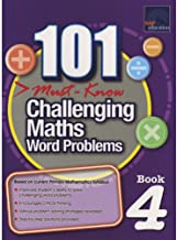SAP 101 Must Know Challenging Maths Word Problems 4 - Kool Skool The Bookstore