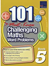 SAP 101 Must Know Challenging Maths Word Problems 5 - Paperback - Kool Skool The Bookstore