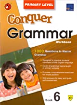 SAP Conquer Grammar Workbook Primary Level 6 - Paperback - Kool Skool The Bookstore