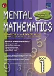SAP Mental Mathematics Level 1 - Kool Skool The Bookstore