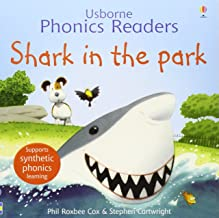 Usborne Phonics Readers: Shark In The Park - Paperback - Kool Skool The Bookstore